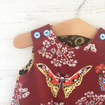 Load image into Gallery viewer, reversible butterfly pocket jumper - little girl Pearl