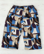 Load image into Gallery viewer, flannel reversible pants in toucan - little girl Pearl