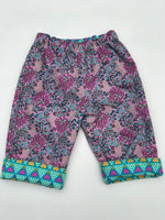 Load image into Gallery viewer, reversible pants in jade heart - little girl Pearl