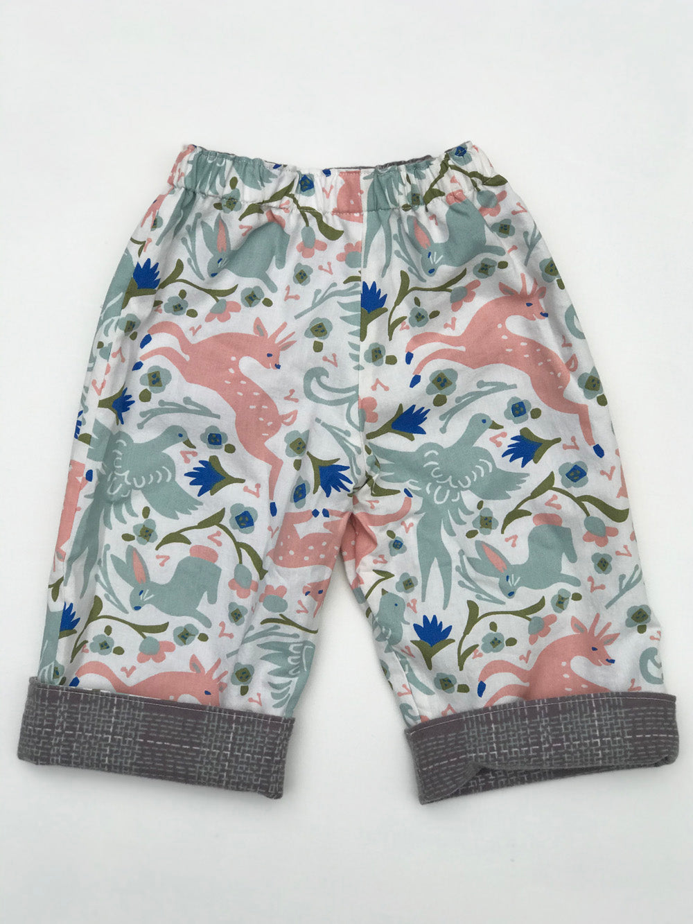 reversible pants in mythical creatures - little girl Pearl