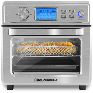 21L Digital Programmable Air Fryer Oven, Oil-Less Convection Oven