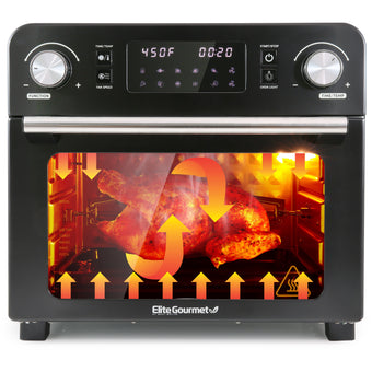 23L Digital Programmable Fryer Oven