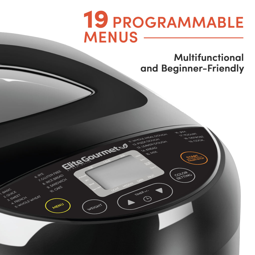 2 Lb Programmable Bread Maker Machine