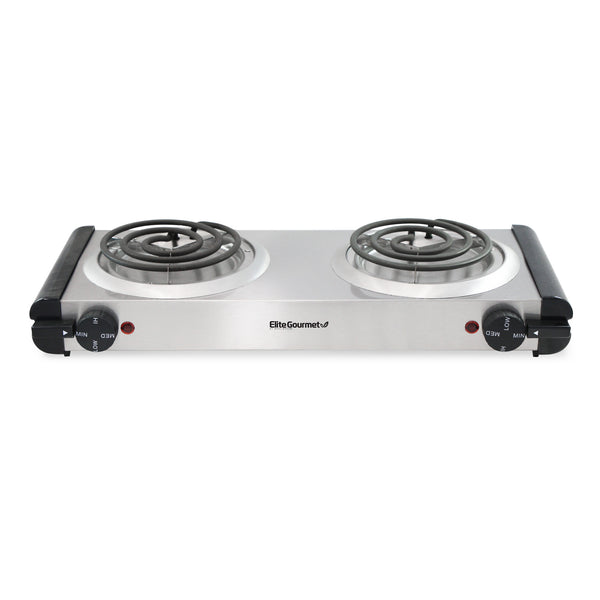 Electric Stainless steel Double Buffet Burner