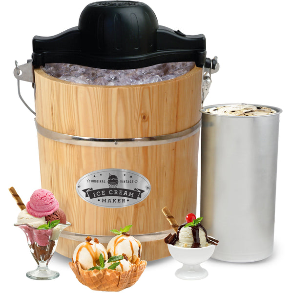 Product: 4 Qt. Old-Fashioned Ice Cream Freezer
