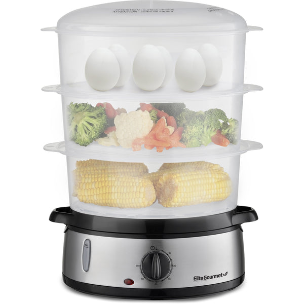 9.5Qt. Stainless Steel Food Steamer
