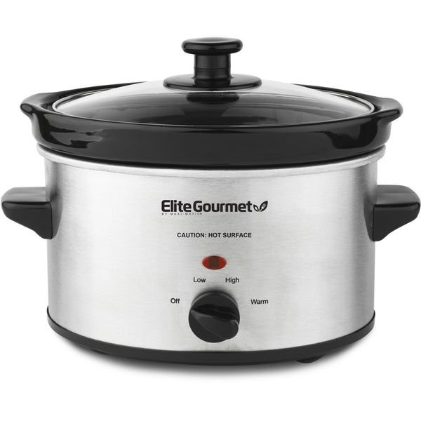 2 Qt. Stainless Steel Slow Cooker