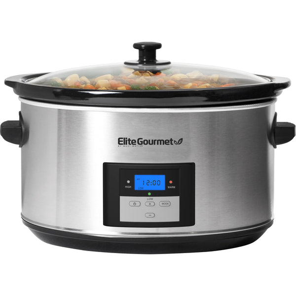 8.5Qt. Programmable Stainless Steel Slow Cooker