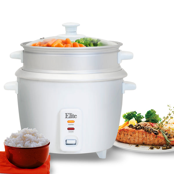 16-Cup Rice Cooker with Steam Tray