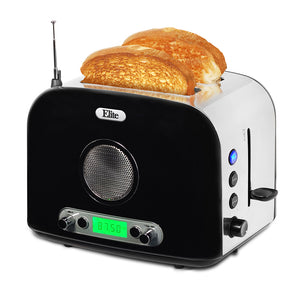 2 Slice Stainless Steel Radio Toaster