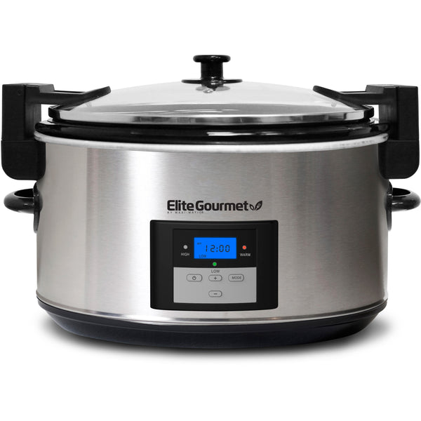 8.5 Qt. Programmable Slow Cooker With Locking Lid