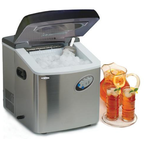 Stainless Steel Portable Ice Maker [NEW]