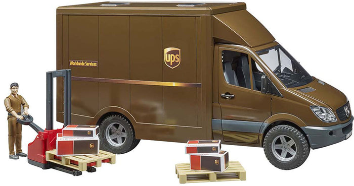 UPS Sprinter Truck with Driver by Bruder