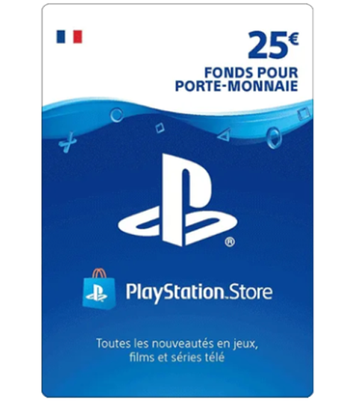 Carte Playstation Network 25 euros [FR]
