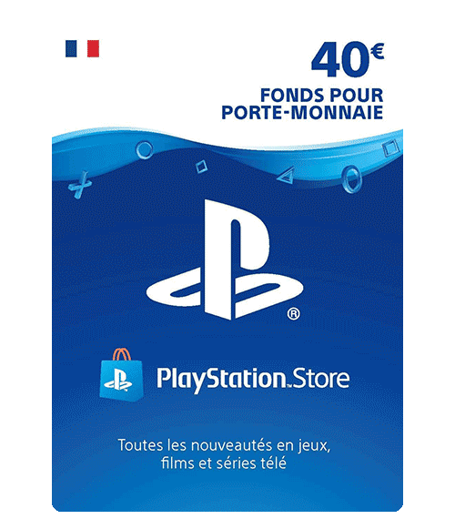 Carte Playstation Network 40 euros [FR]