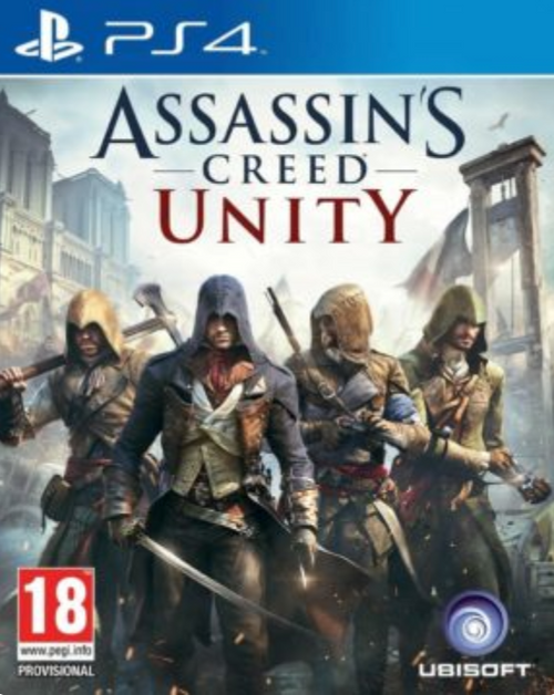 Assassin's Creed Unity (PS4)229 (Compte Principal + Secondaire )