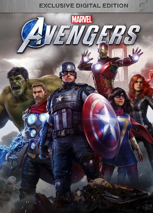 Marvel's Avengers: Exclusive Digital Edition (Compte Principal + Secondaire )