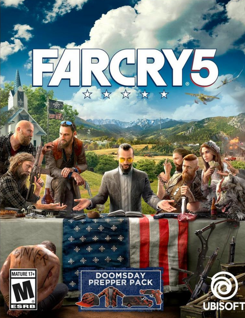 FAR CRY 5 (Compte Principal + Secondaire )