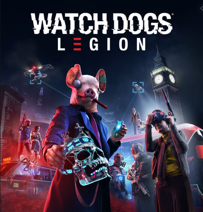 Watch Dogs Legion  ( Compte Digital principal et secondaire )