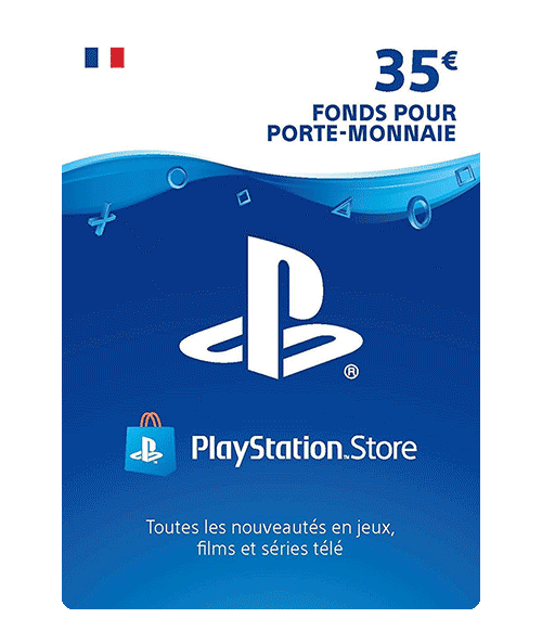 Carte Playstation Network 35 euros [FR]