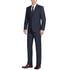 201-2 Men's Dark Navy Blue 2-Piece Single Breasted Notch Lapel Suit