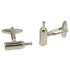 Silvertone Novelty Bottle Cufflinks with Jewelry Box - Ferrecci USA