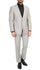 Mens Daxson Grey Slim Fit Shawl Collar 3pc Tuxedo - Ferrecci USA