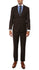 Etro Mens Brown Pinstripe Slim Fit Notch Lapel 2pc Suit - Ferrecci USA