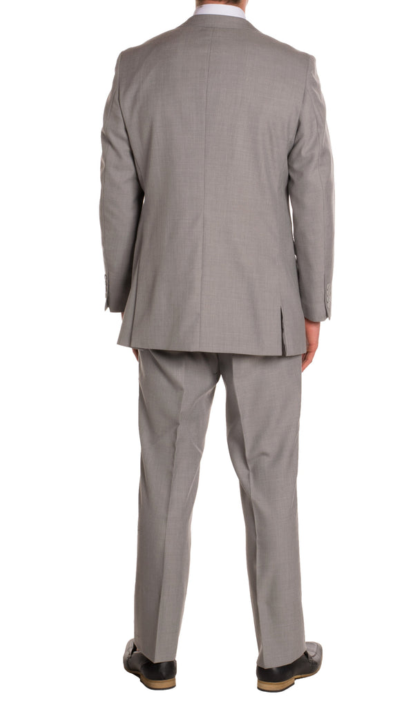 Light Grey Regular Fit Suit - 2PC - FORD - Ferrecci USA