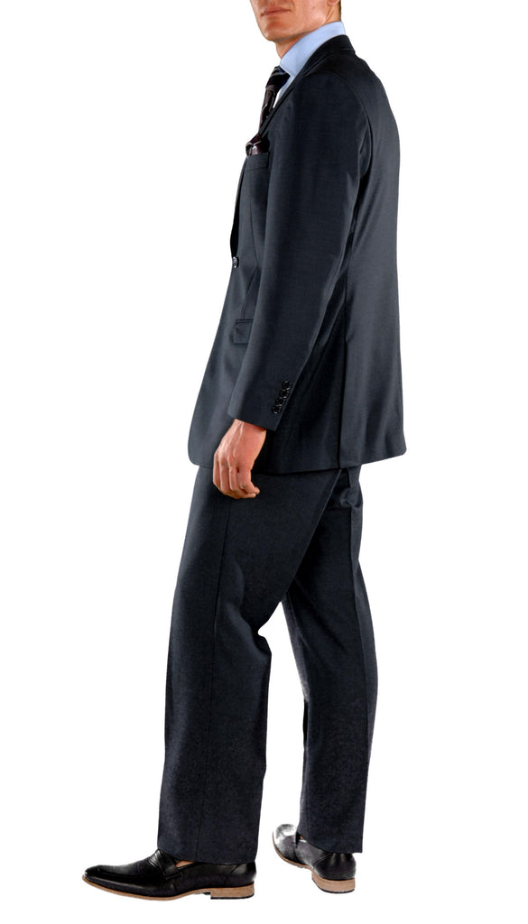 Navy Blue Regular Fit Suit - 2PC - FORD - Ferrecci USA