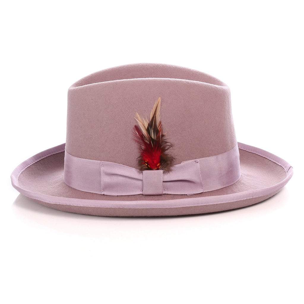Ferrecci Premium Lavender Godfather Hat - Ferrecci USA