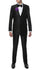 Oxford Black Sharkskin Slim Fit Suit - Ferrecci USA