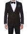 Pandora Mens Black Tapestry Super Slim Fit Notch Lapel Tuxedo Blazer - Ferrecci USA