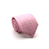 Mens Dads Classic Pink Circle Pattern Business Casual Necktie & Hanky Set PO-1 - Ferrecci USA