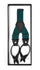 Teal Unisex Button End Suspenders - Ferrecci USA