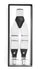 White Clip-On Unisex Suspenders - Ferrecci USA