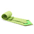 Cow Lime Green Necktie with Handkerchief Set - Ferrecci USA