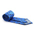 Cow Blue Necktie with Handkerchief Set - Ferrecci USA