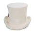Premium Wool Off White Top Hat - Ferrecci USA