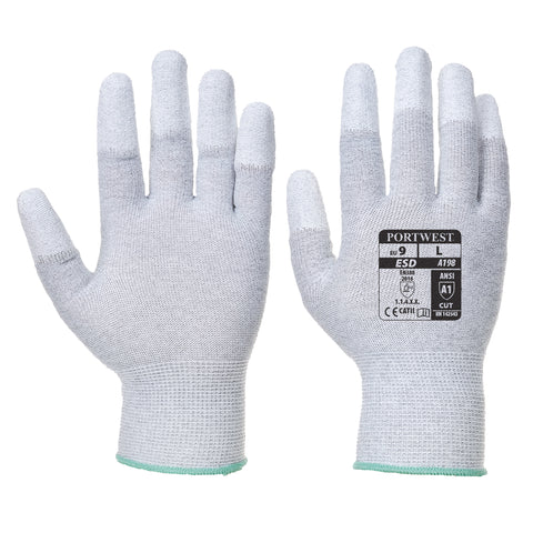 Antistatic PU Fingertip Glove- A198