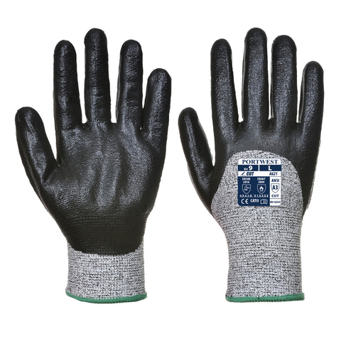 Cut Nitrile Foam Glove- A621