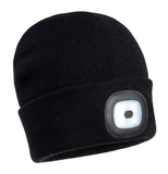 Rechargeable LED Beanie- B029