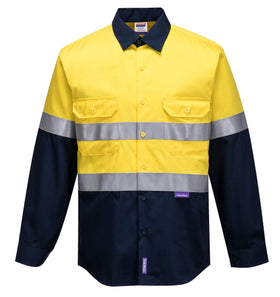 FR Cotton Drill Shirt D/N- MF101