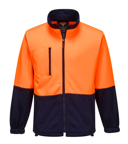 Water Repellent Brush Fleece Jacket- MH315
