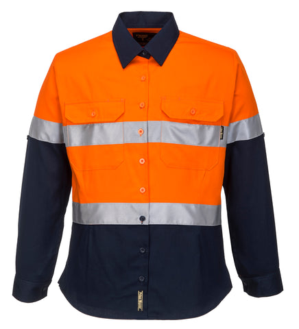 Hi-Vis Ladies ShirtL/SD/N