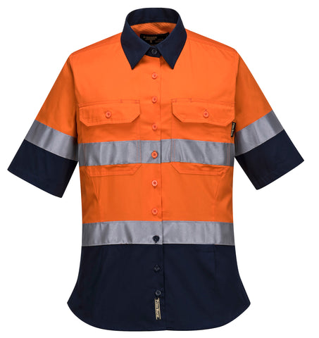 Hi-Vis Ladies ShirtS/SD/N