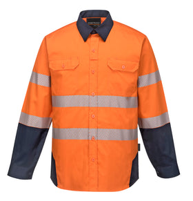 PW3 Hi-Vis Work Shirt- PW372