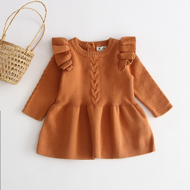 Elise Dress - Brown
