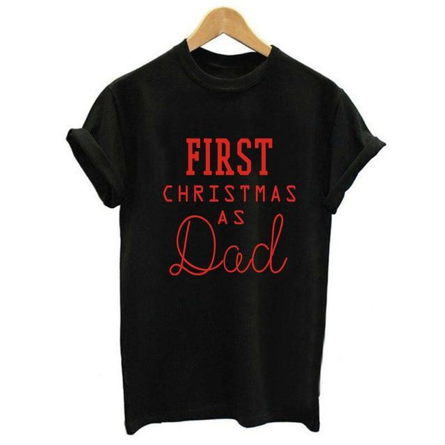 First Christmas As Dad - Black