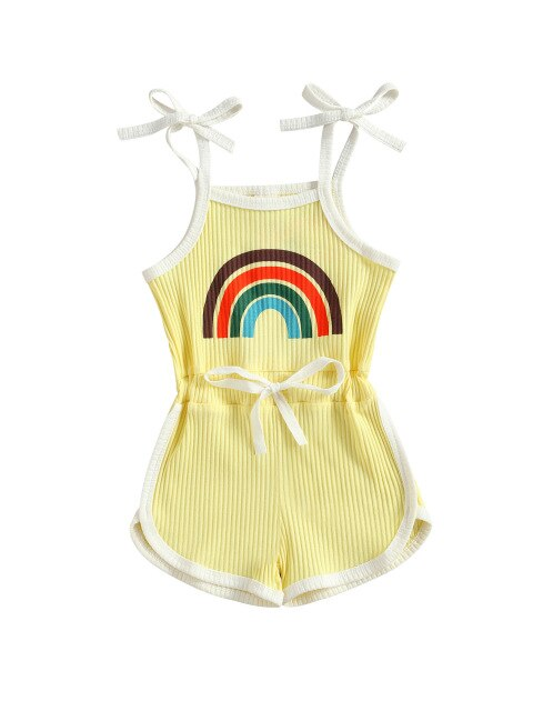 Skylar Basic Playsuit - Yellow